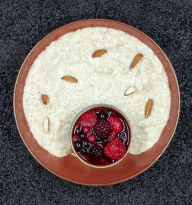 Gesunde Fitnessgerichte Protein-Porridge