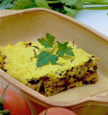 BIO Fertiggerichte - Lupinen-Lasagne