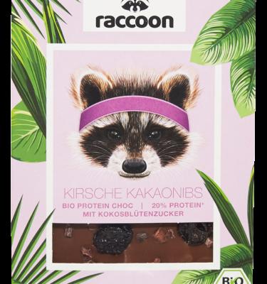 Kirsche Kakaonibs vorne transparent
