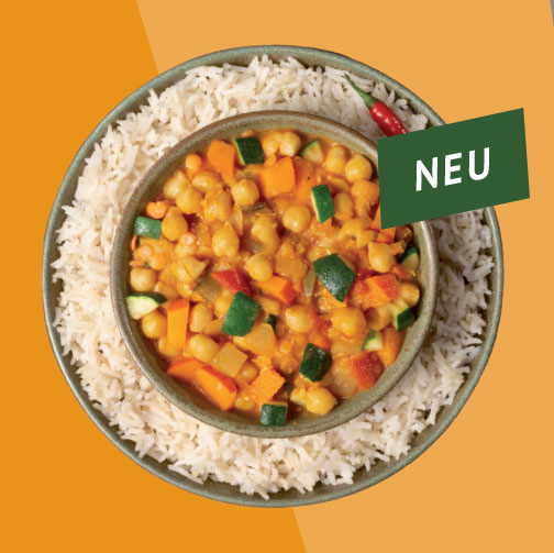 Bio Kichererbsen Curry