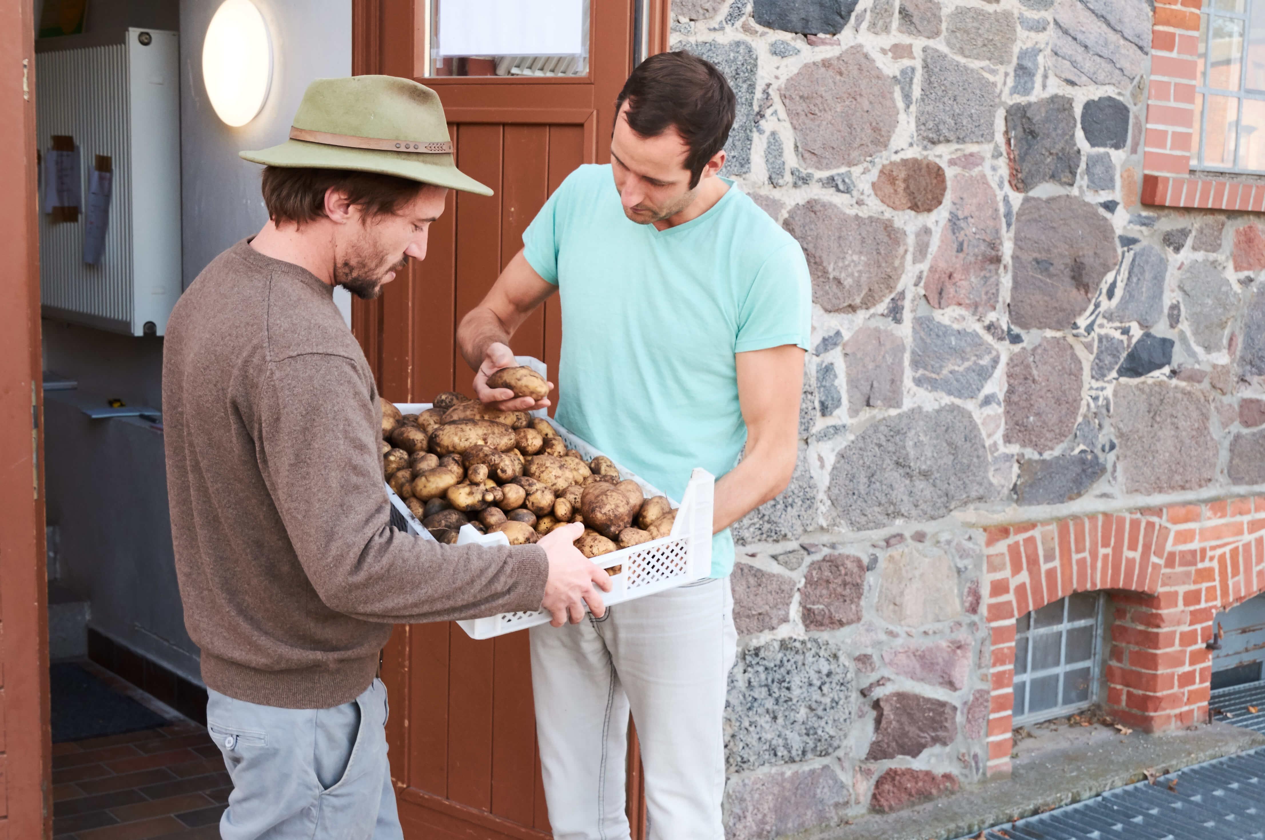 Regionaler Kartoffelkauf: Lunch Vegaz und die Pommersche Höfegemeinschaft