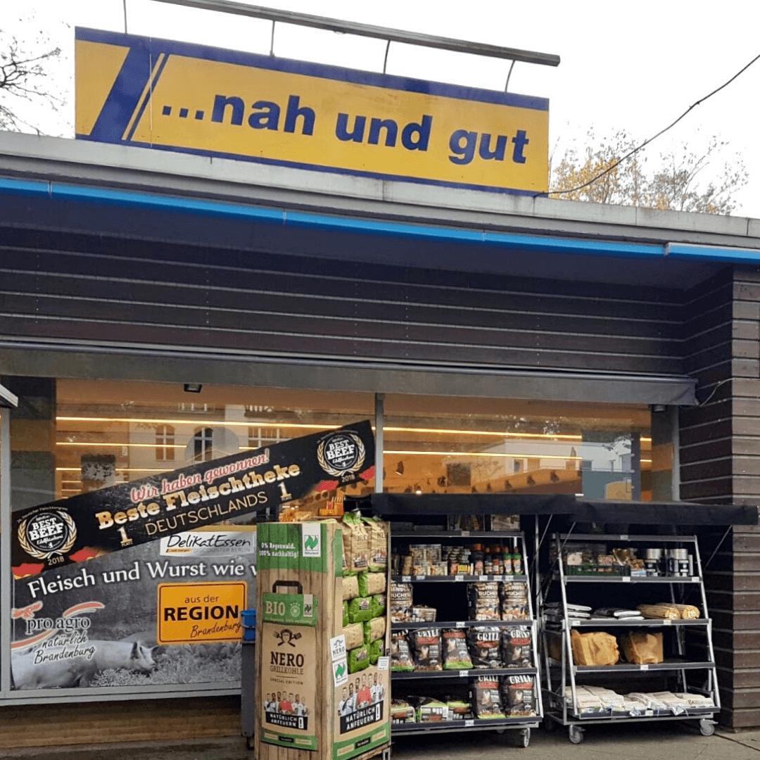LunchVegaz beim Edeka DelikatEssen Discounter in Berlin