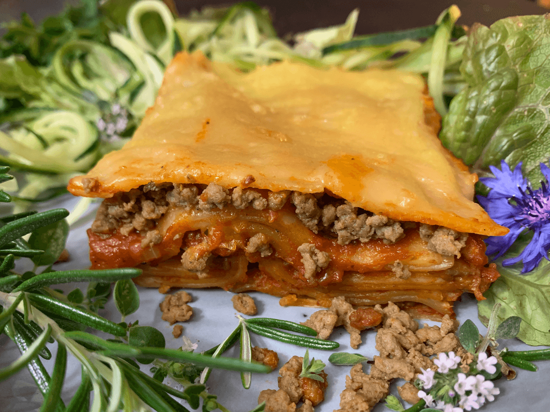 Die beste vegane Lasagne.
