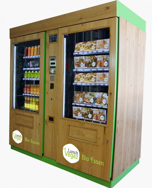 Lunch Vegaz Automat Kombi mit Getränke